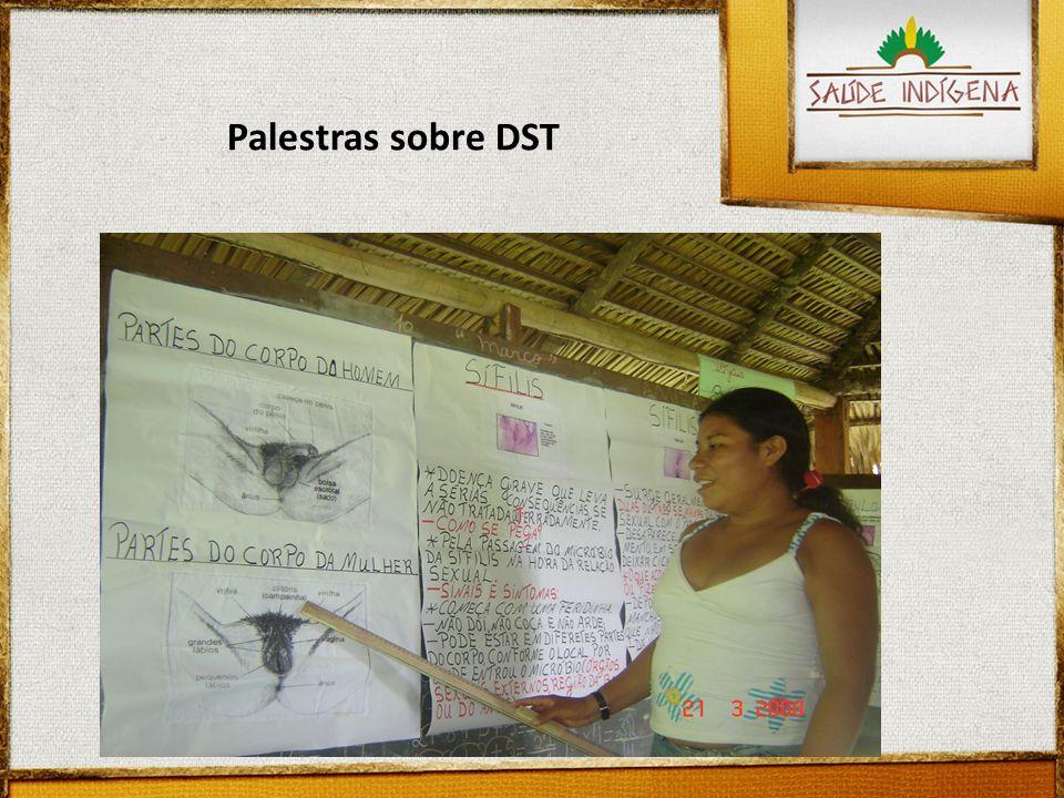 Palestras sobre DST