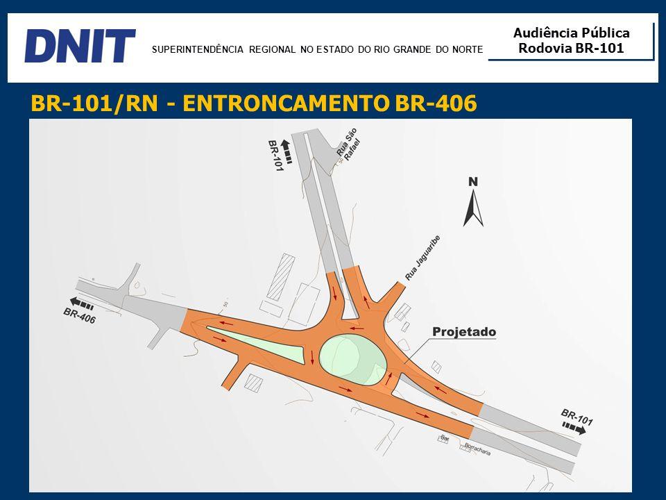BR-101/RN - ENTRONCAMENTO BR-406