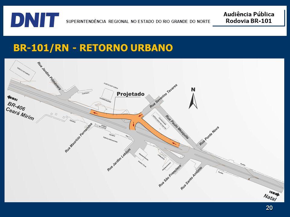 BR-101/RN - RETORNO URBANO