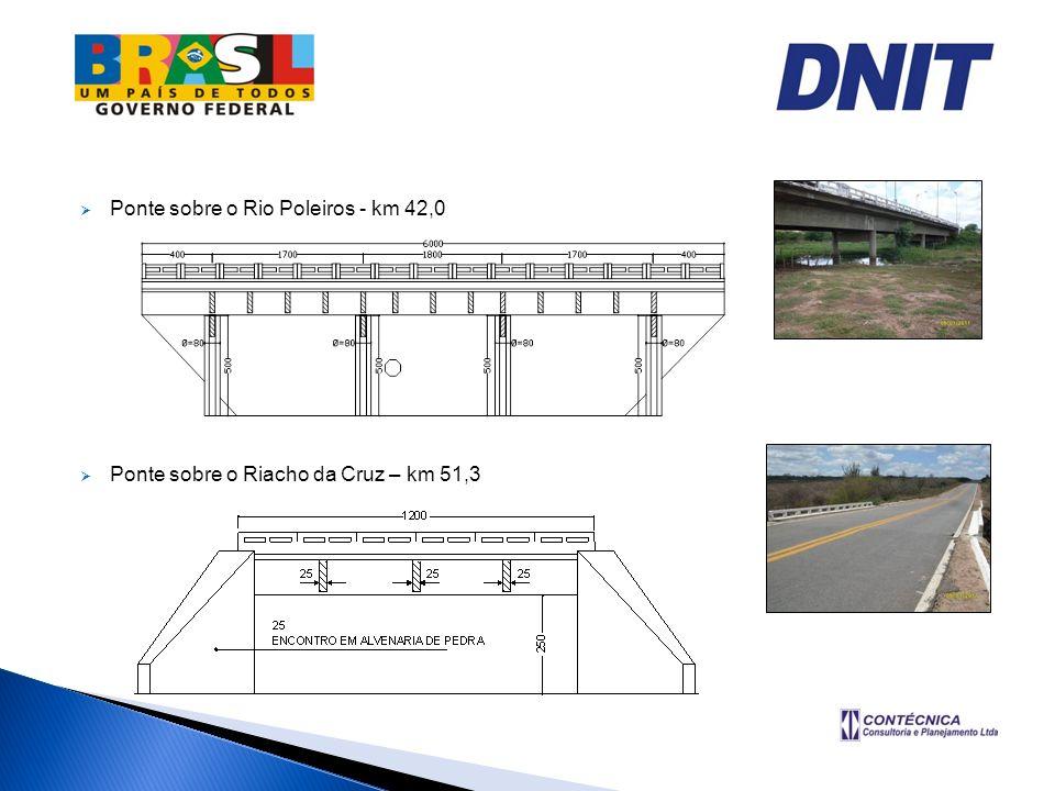 Ponte sobre o Rio Poleiros - km 42,0