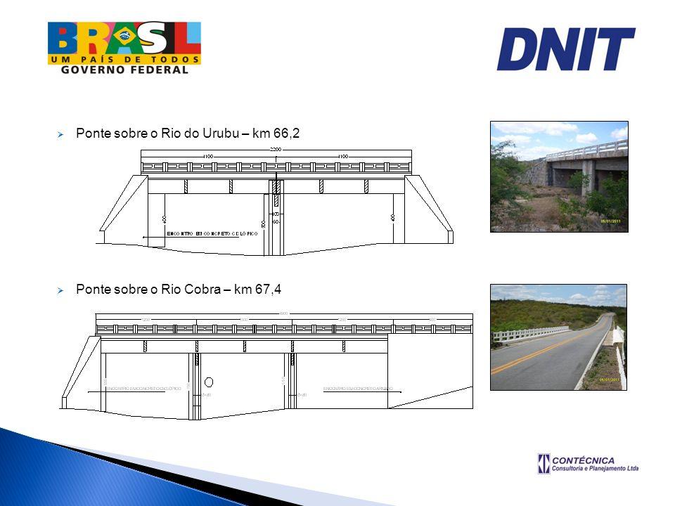 Ponte sobre o Rio do Urubu – km 66,2