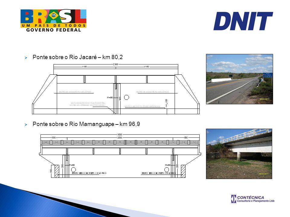 Ponte sobre o Rio Jacaré – km 80,2
