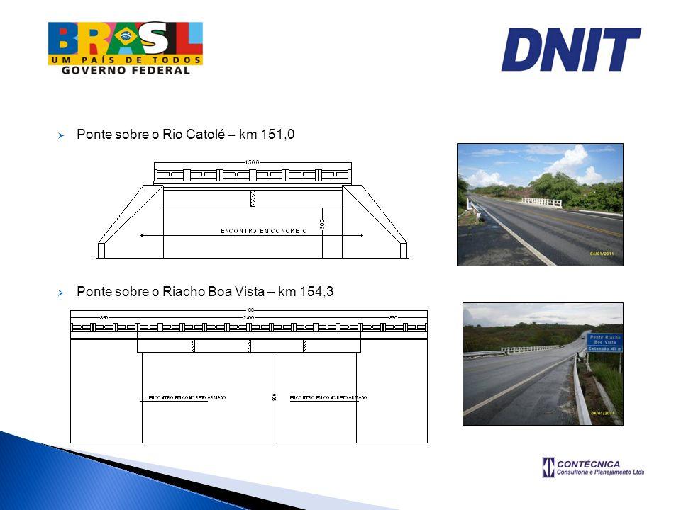 Ponte sobre o Rio Catolé – km 151,0