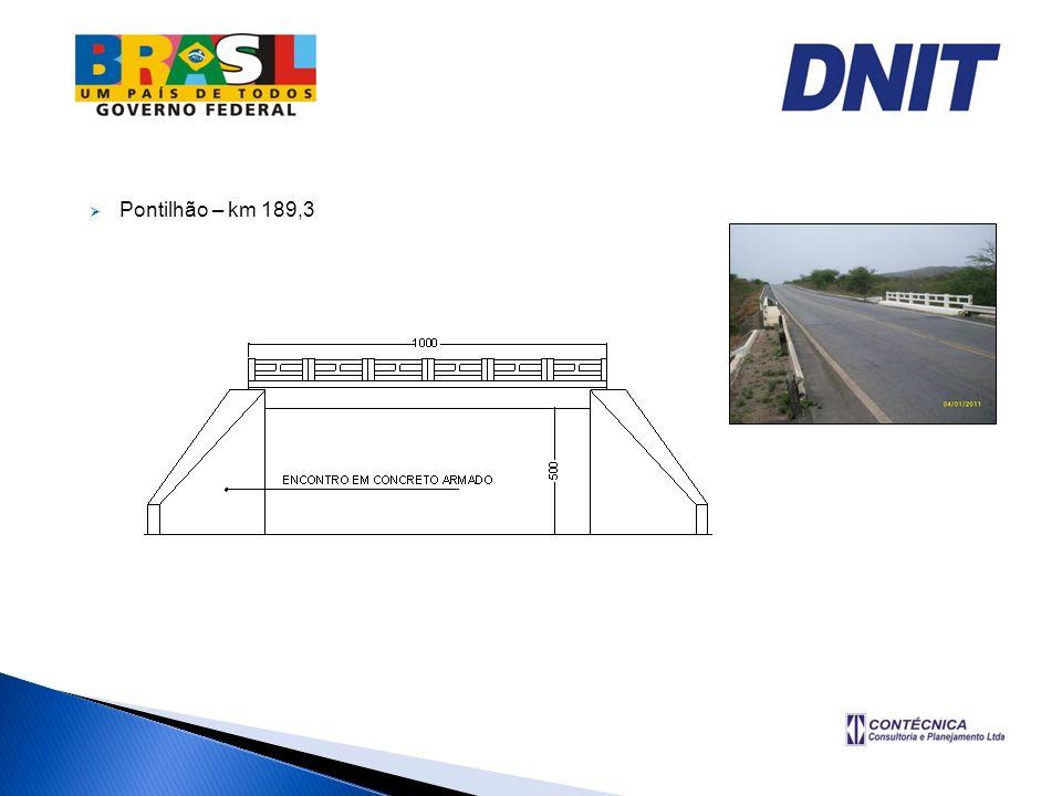 Pontilhão – km 189,3