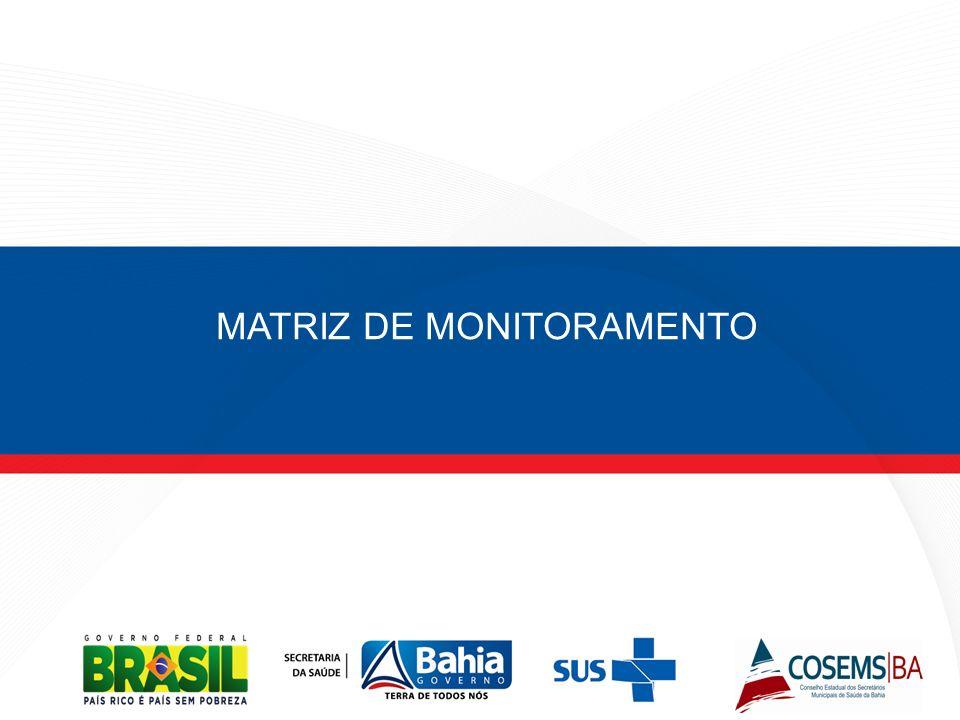 MATRIZ DE MONITORAMENTO
