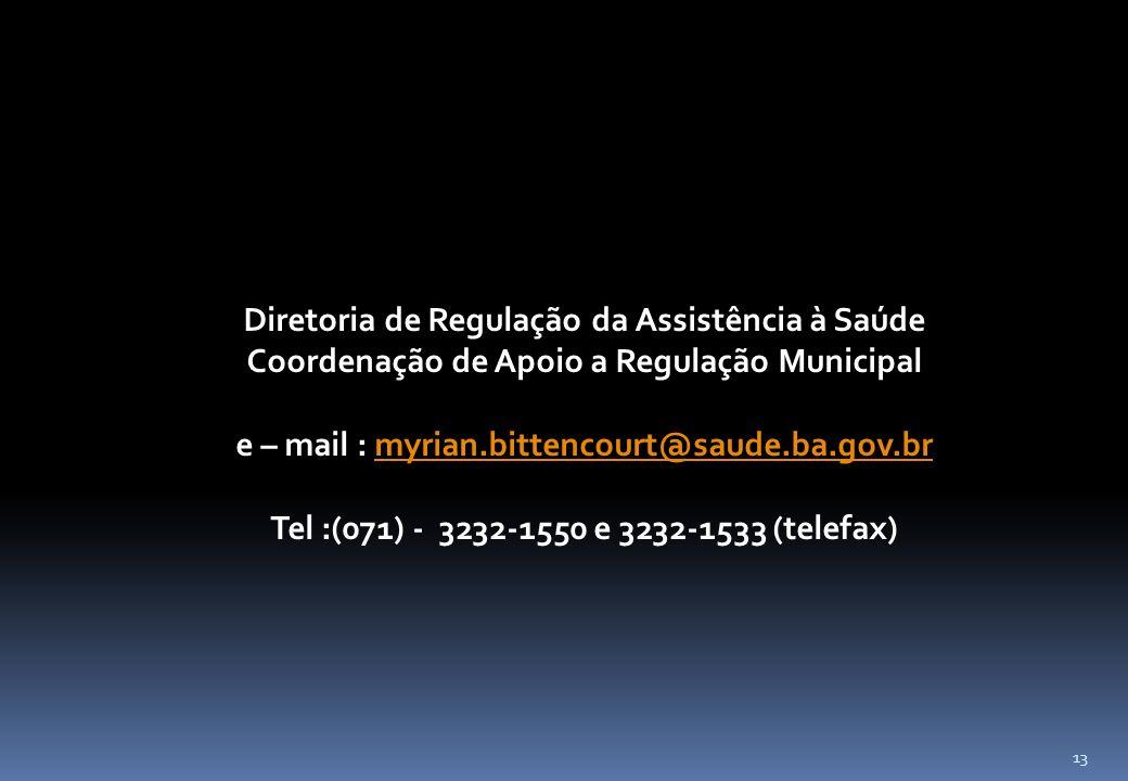 Diretoria de Regulação da Assistência à Saúde