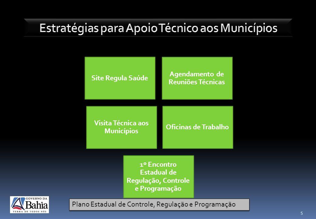 Estratégias para Apoio Técnico aos Municípios
