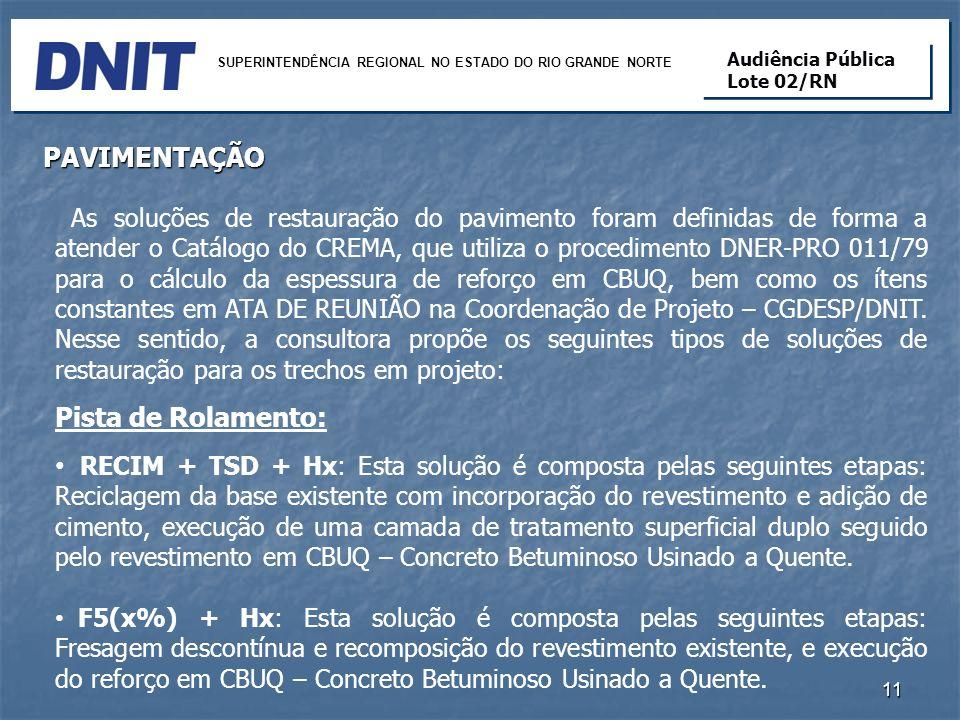 SUPERINTENDÊNCIA REGIONAL NO ESTADO DO RIO GRANDE NORTE