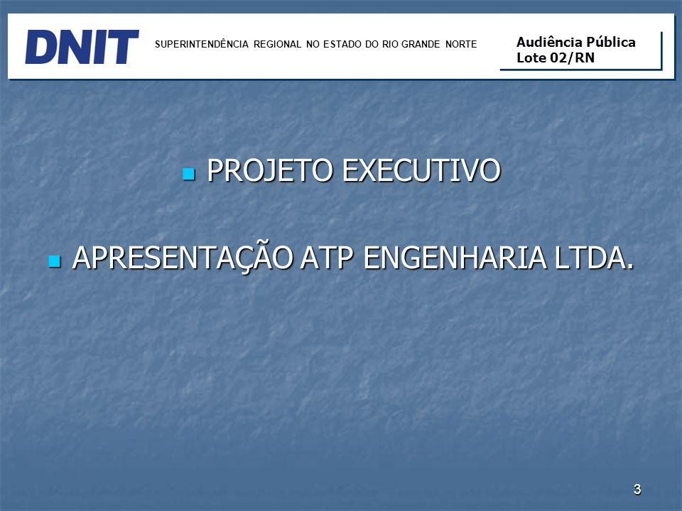 APRESENTAÇÃO ATP ENGENHARIA LTDA.
