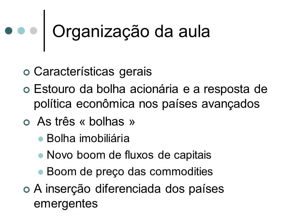 Organização da aula Características gerais