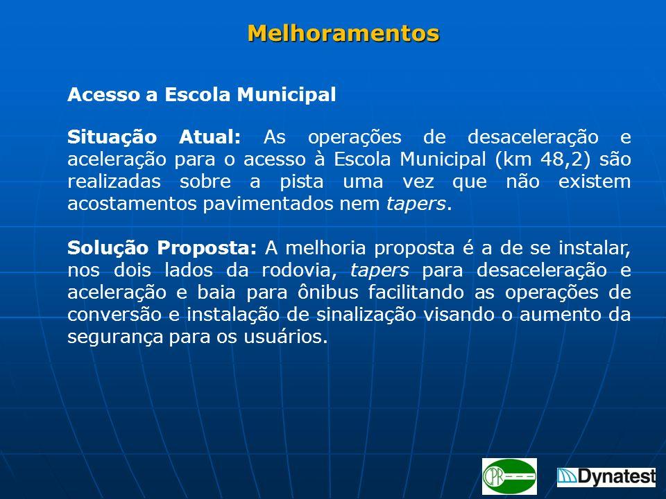 Melhoramentos Acesso a Escola Municipal.