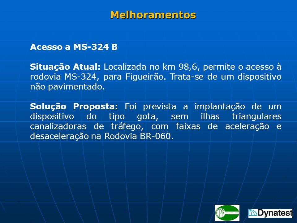 Melhoramentos Acesso a MS-324 B.