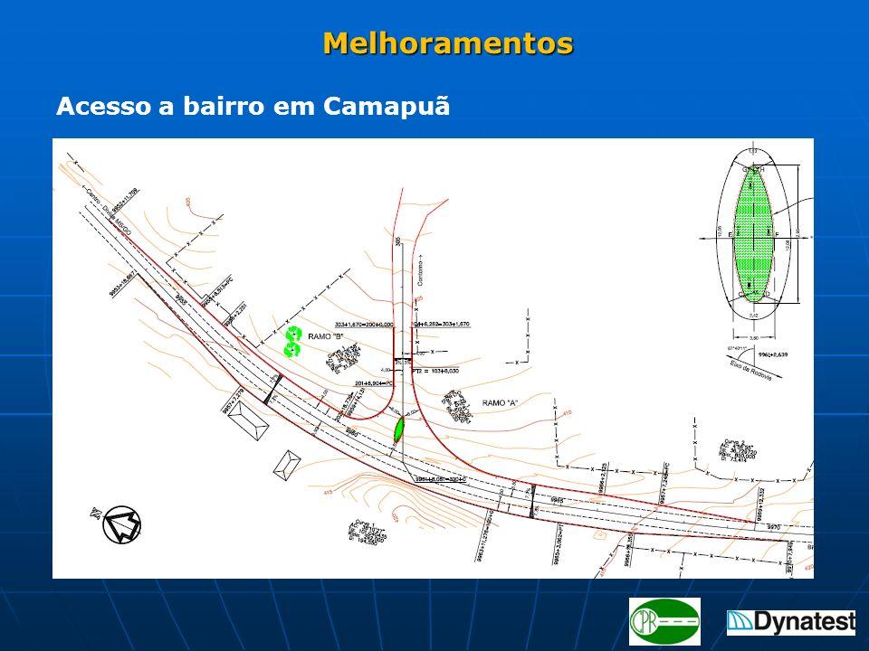 Melhoramentos Acesso a bairro em Camapuã