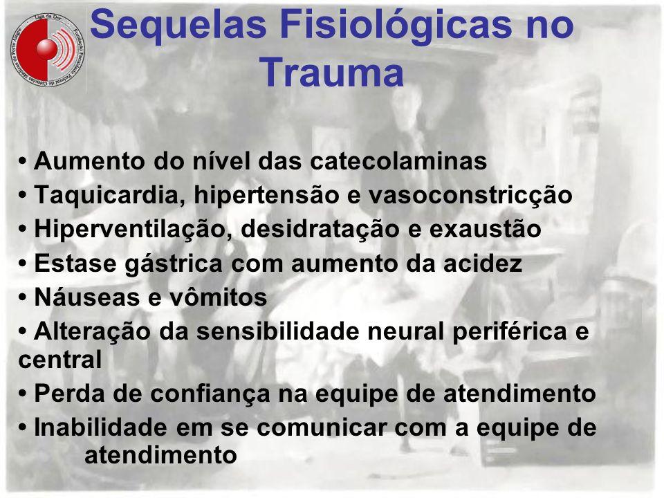 Sequelas Fisiológicas no Trauma
