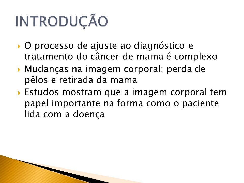 INTRODUÇÃO O processo de ajuste ao diagnóstico e tratamento do câncer de mama é complexo.