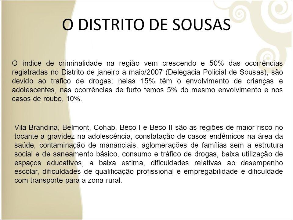 O DISTRITO DE SOUSAS