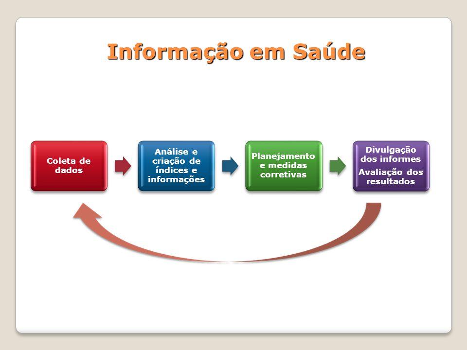 Informação em Saúde Coleta de dados