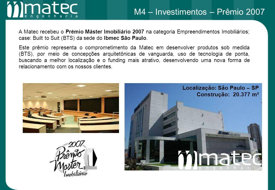 M4 – Investimentos – Prêmio 2007