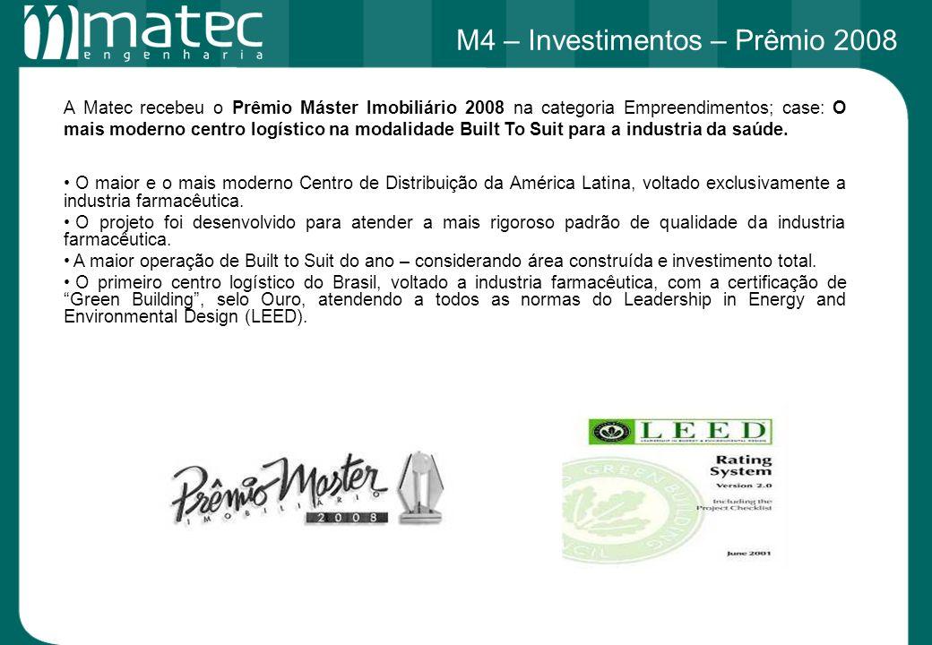 M4 – Investimentos – Prêmio 2008