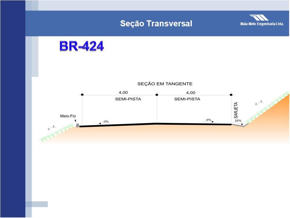 Seção Transversal BR-424