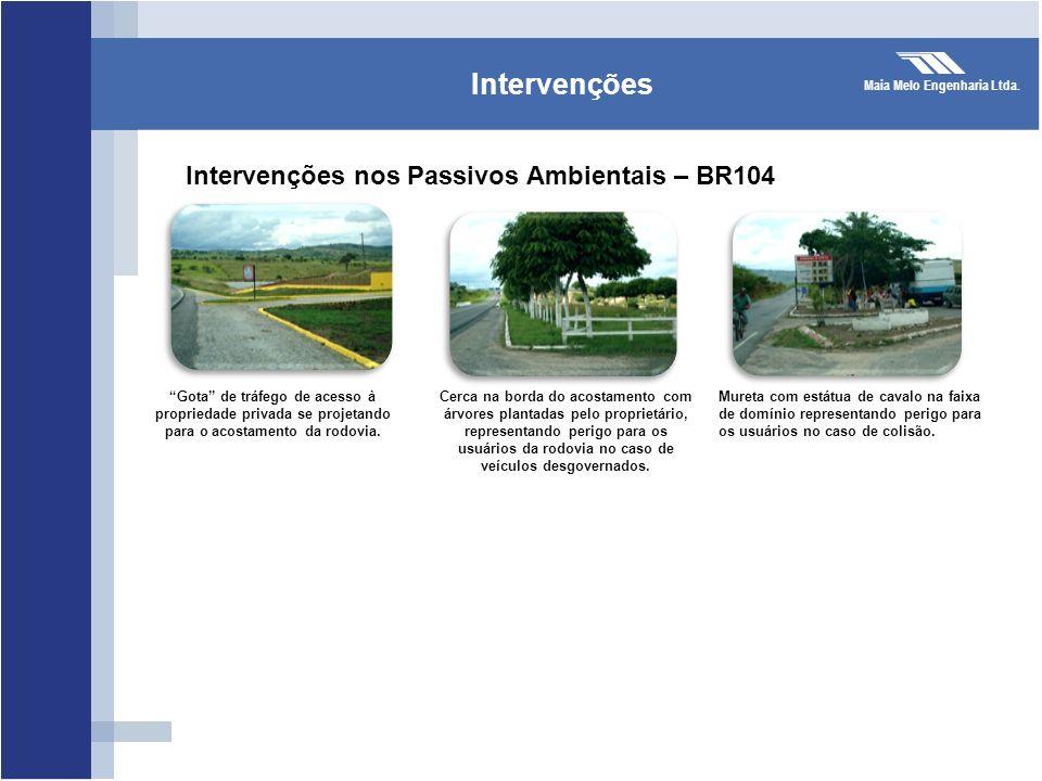Intervenções nos Passivos Ambientais – BR104