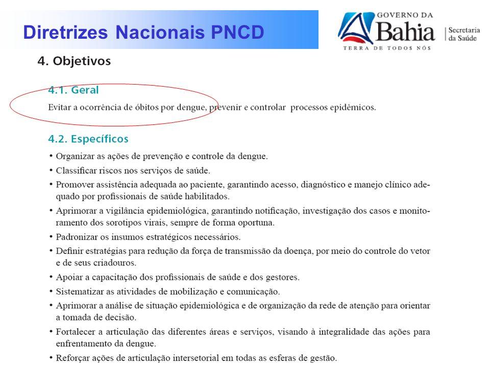 Diretrizes Nacionais PNCD