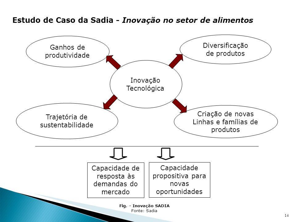 Estudo de Caso da Sadia - Inovação no setor de alimentos