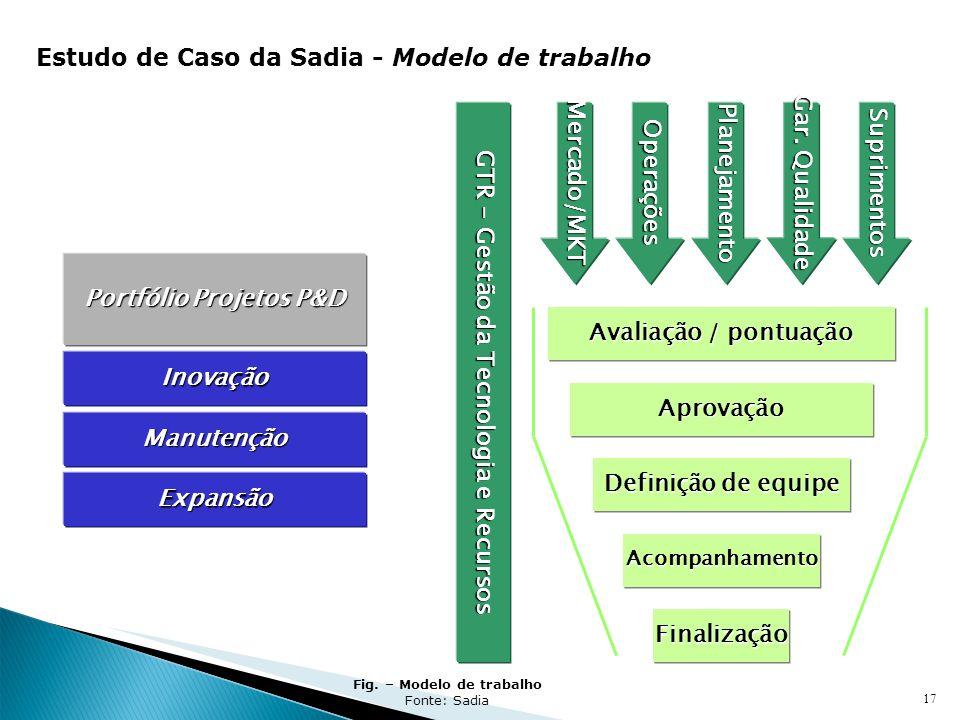 Estudo de Caso da Sadia - Modelo de trabalho