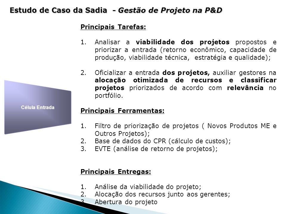 Estudo de Caso da Sadia - Gestão de Projeto na P&D