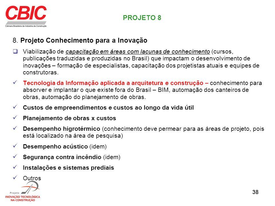 8. Projeto Conhecimento para a Inovação