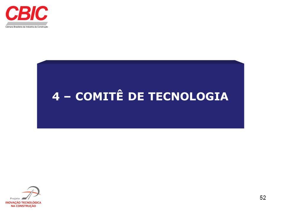 4 – COMITÊ DE TECNOLOGIA