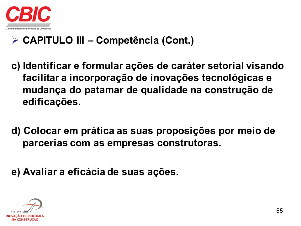 CAPITULO III – Competência (Cont.)