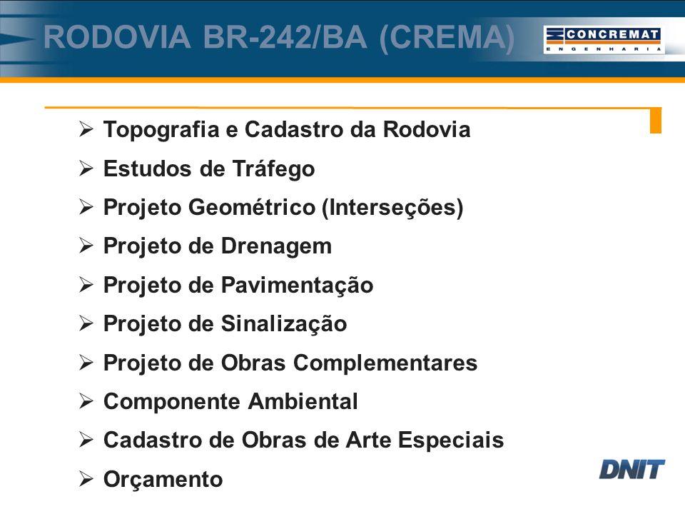 RODOVIA BR-242/BA (CREMA)