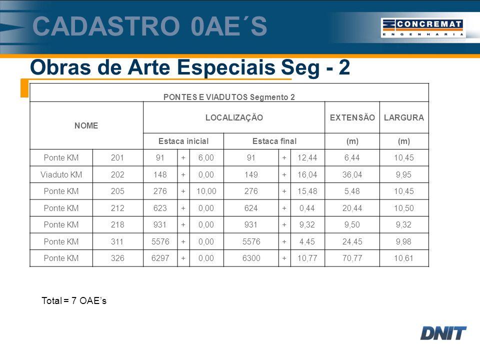 PONTES E VIADUTOS Segmento 2