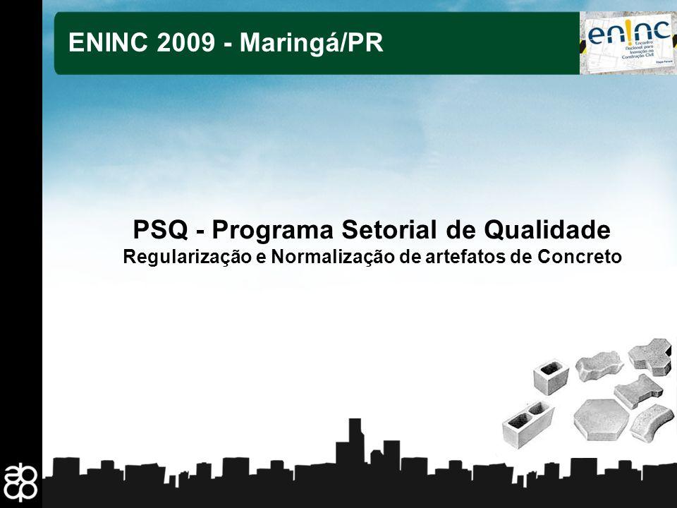PSQ - Programa Setorial de Qualidade