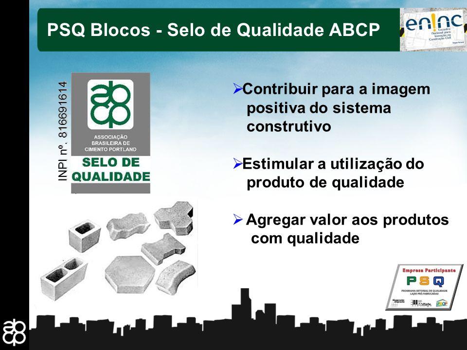 PSQ Blocos - Selo de Qualidade ABCP