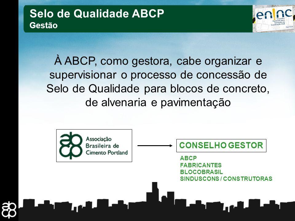 Selo de Qualidade ABCP Gestão.