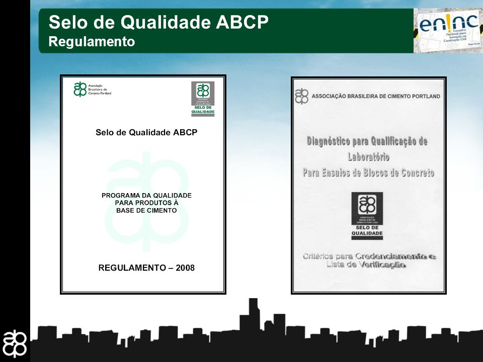 Selo de Qualidade ABCP Regulamento 14