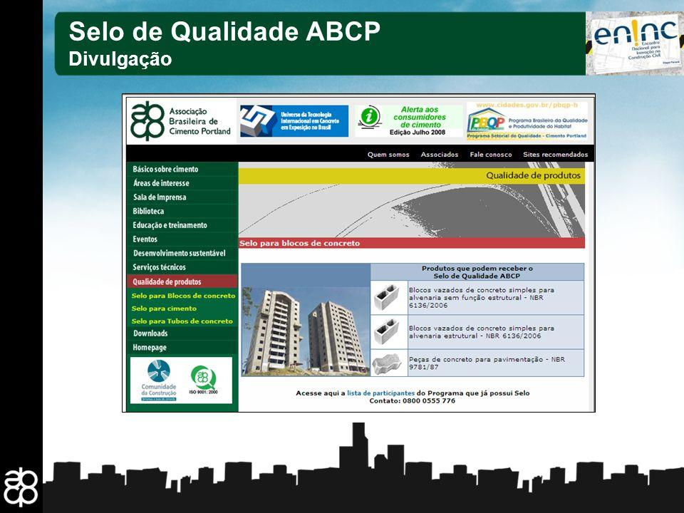 Selo de Qualidade ABCP Divulgação 25