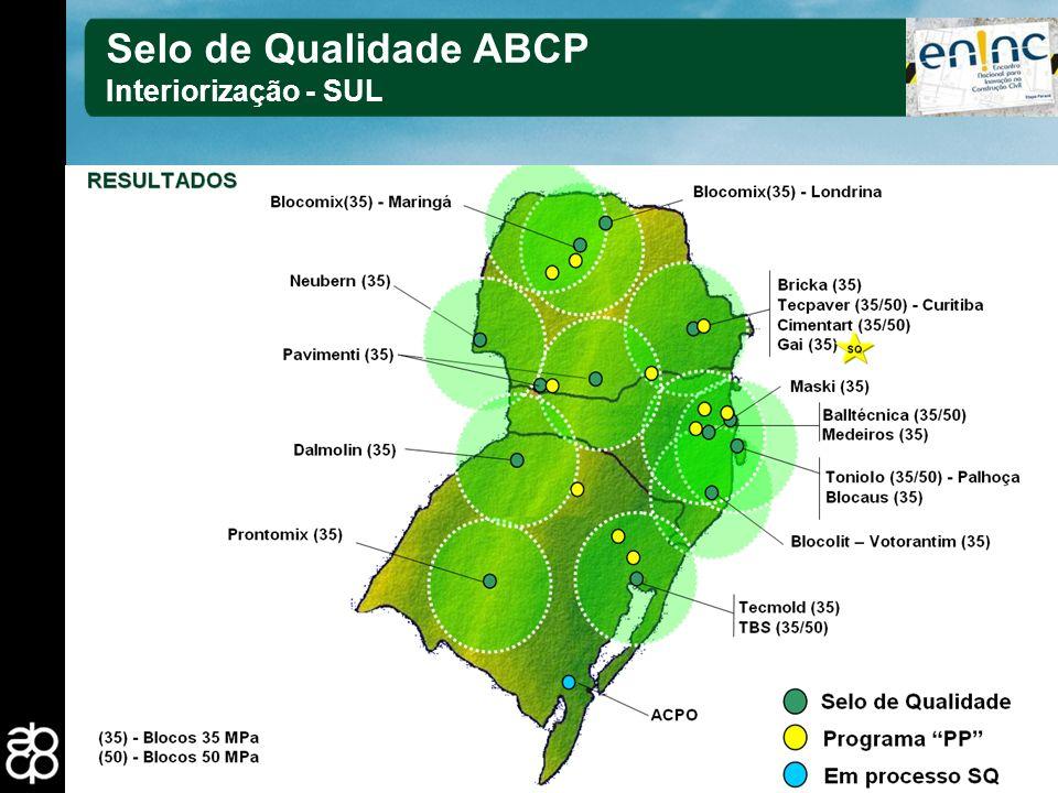 Selo de Qualidade ABCP Interiorização - SUL 27