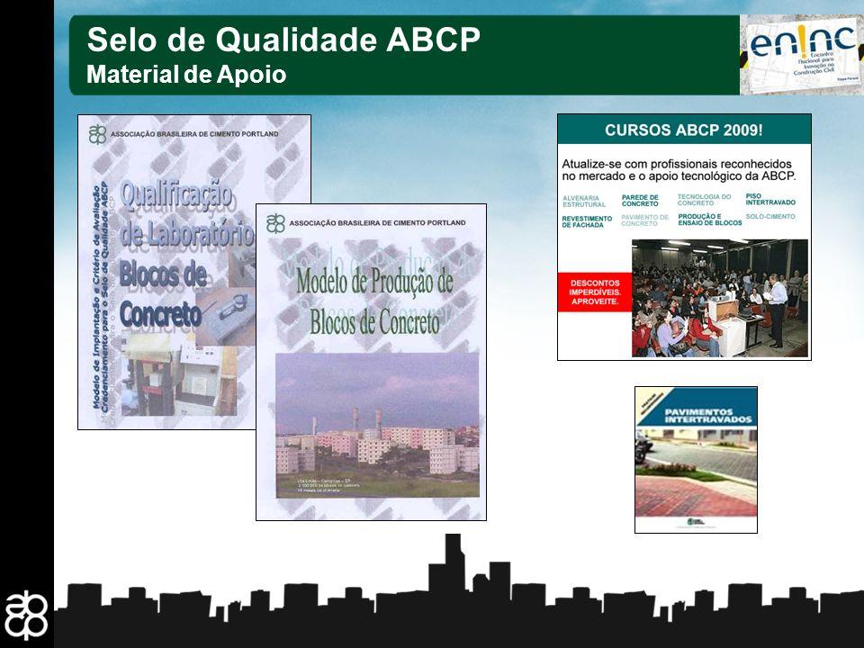 Selo de Qualidade ABCP Material de Apoio 29