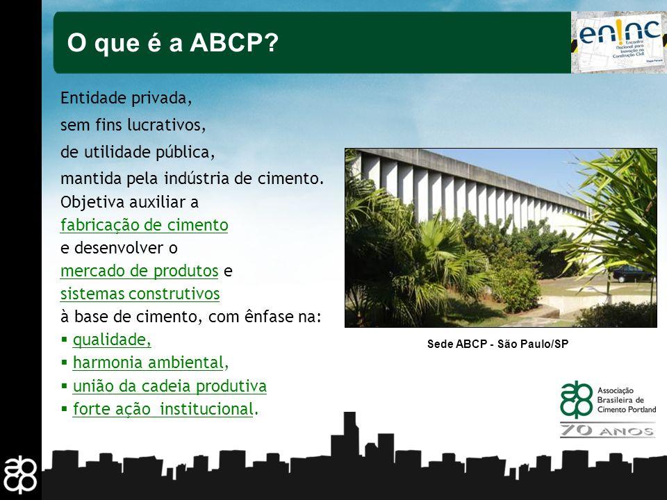 O que é a ABCP Entidade privada, sem fins lucrativos,