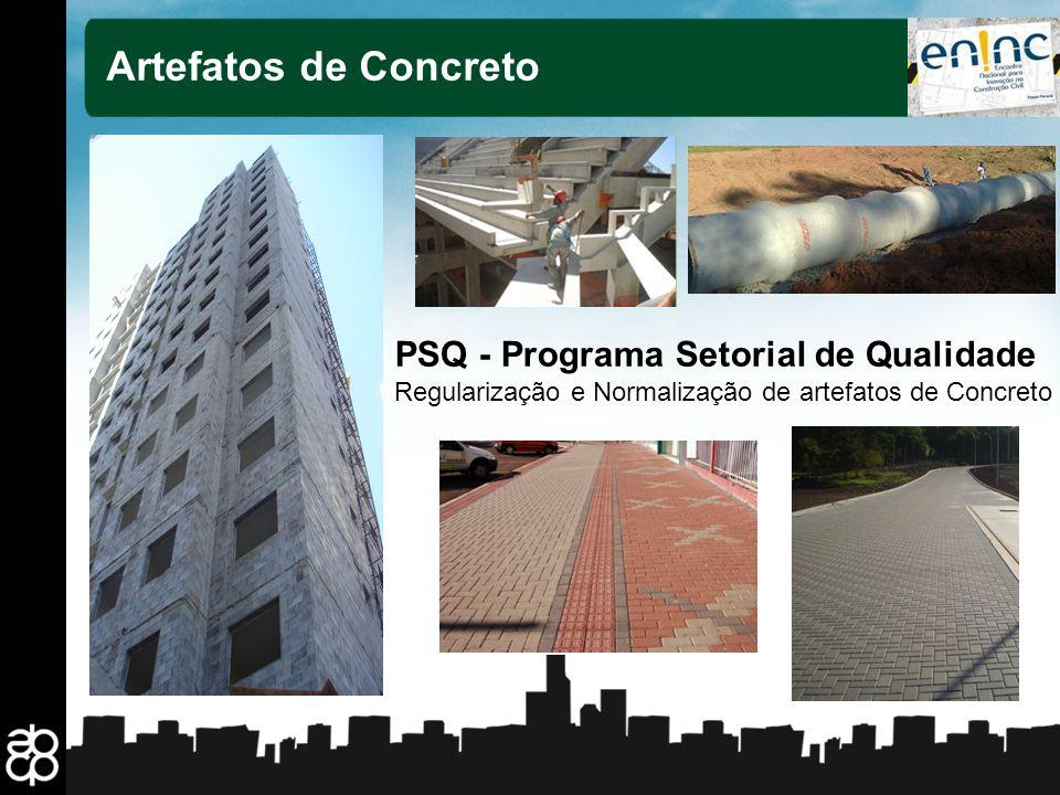 Artefatos de Concreto PSQ - Programa Setorial de Qualidade
