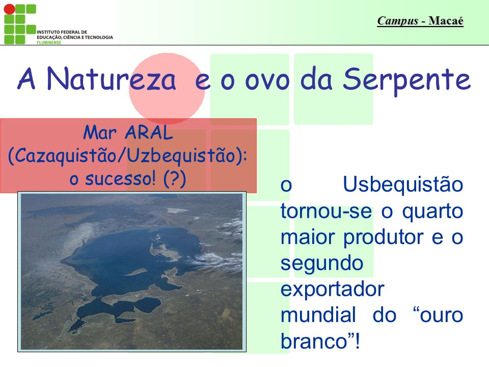 A Natureza e o ovo da Serpente