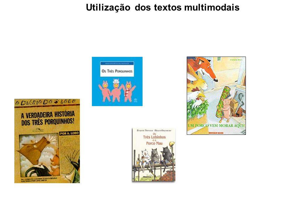 Utilização dos textos multimodais