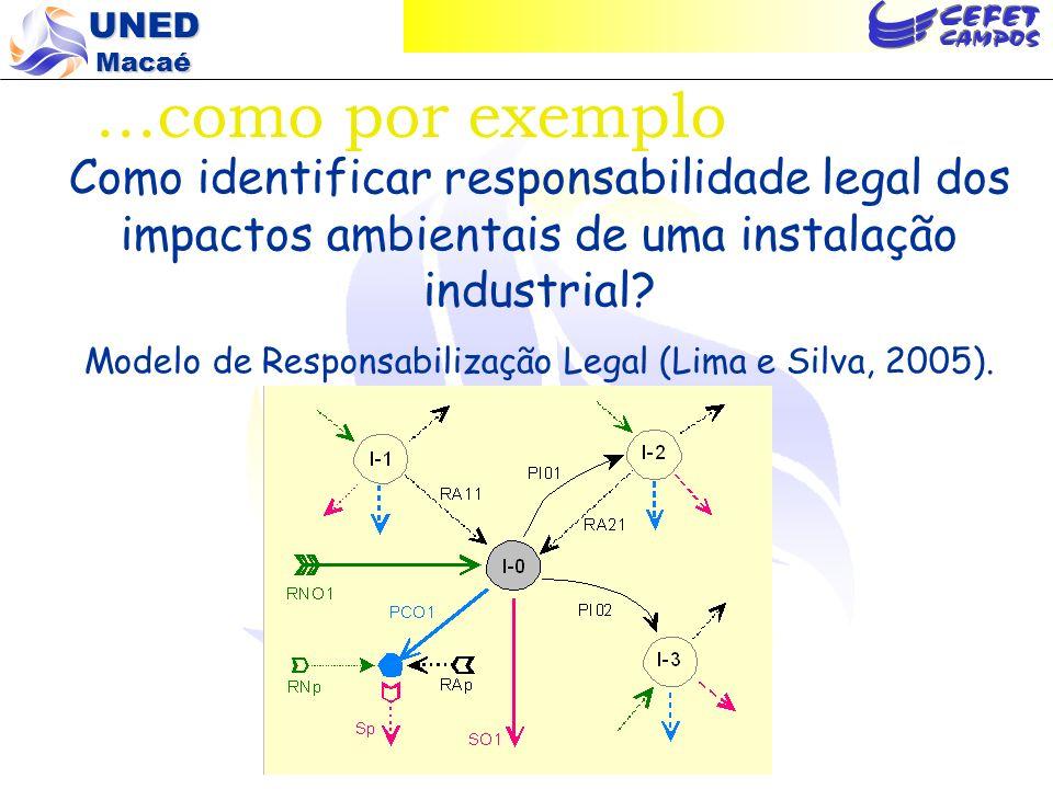 Modelo de Responsabilização Legal (Lima e Silva, 2005).