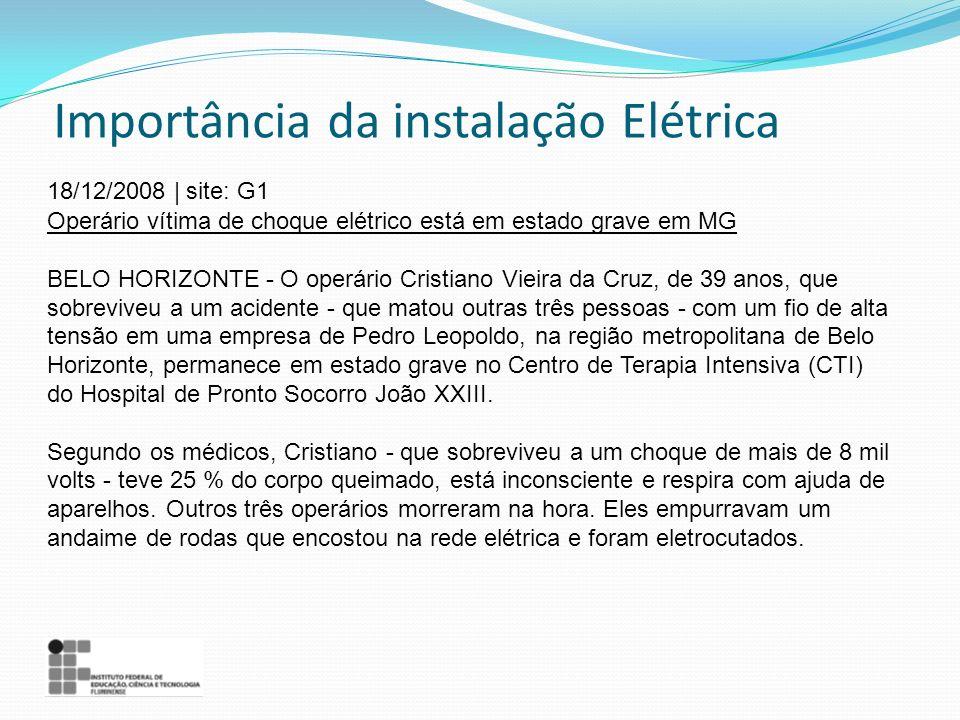 Importância da instalação Elétrica