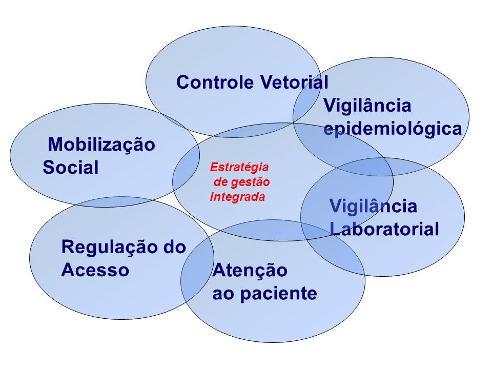 Controle Vetorial Vigilância epidemiológica Mobilização Social