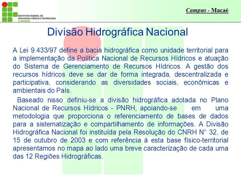 Divisão Hidrográfica Nacional