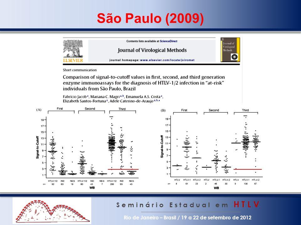 São Paulo (2009) S e m i n á r i o E s t a d u a l e m H T L V